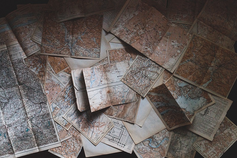 If you know some basic navigation and map reading, using a traditional, non-digital approach can be a very pleasant process.