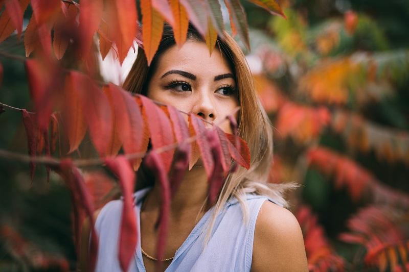 autumn photography tips portrait