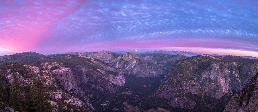 landscape photography Yosemite