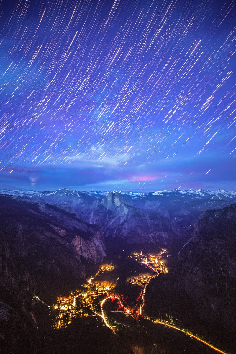 landscape photography star trails astrophotography