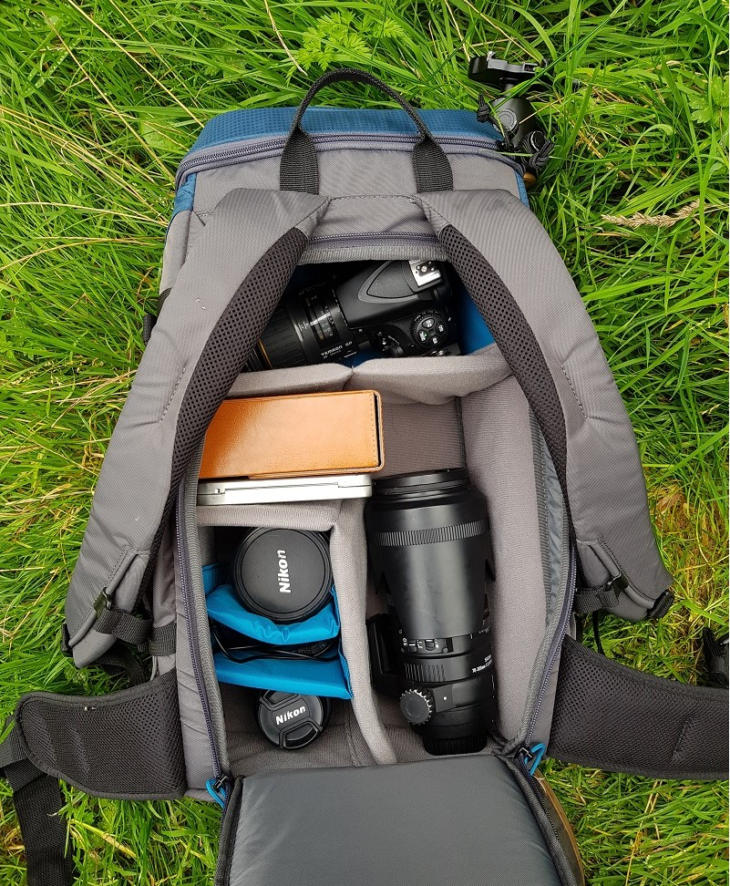 The Tenba Solstice was more than capable of carrying all the gear I need for a day out shooting.