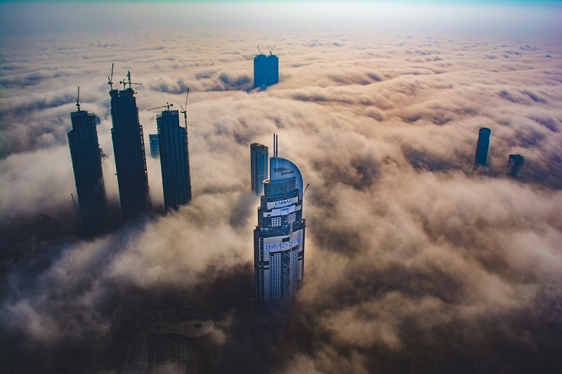Capturing the skyscrapers emerging from the Dubai fog is a goal of many cityscape photographers worldwide.