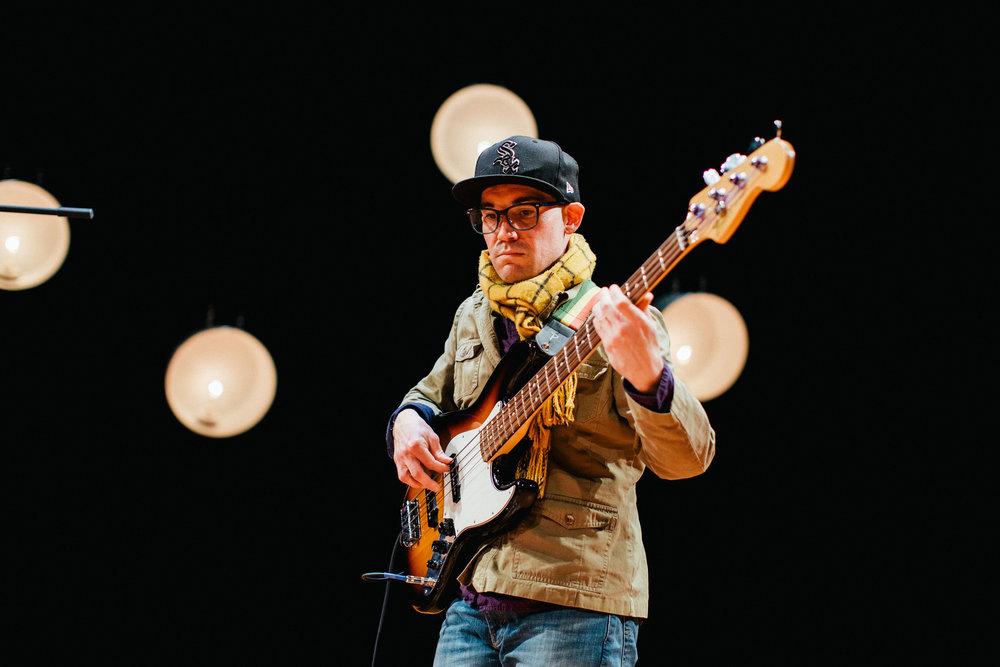 Drew Pompano, Bass