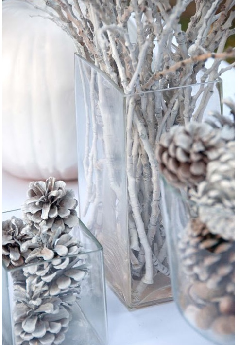 white branches white pinecones diy the welath babe.jpg