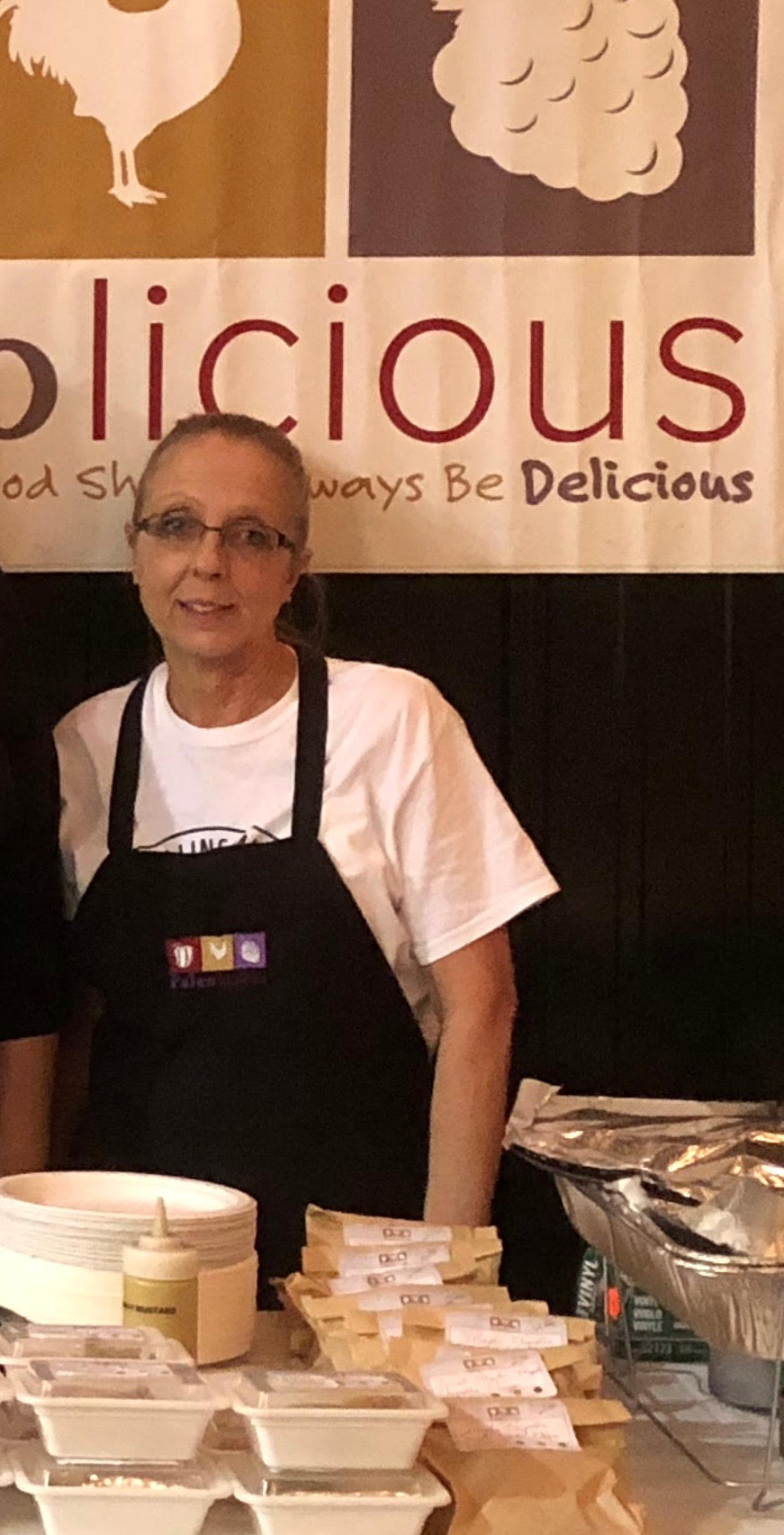 Terry Campbell - Café Manager at the Scripps Center. Terry came to Paleolicious as a 10 year veteran and District Trainer from Starbucks. Highly treasured by us at Paleolicious, she always has a smile, a creative recipe idea and a great story about Charlie, Raven or Sugar.