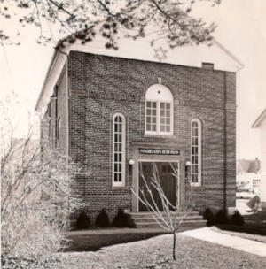 Beth David Synagogue, Amenia, NY 1929