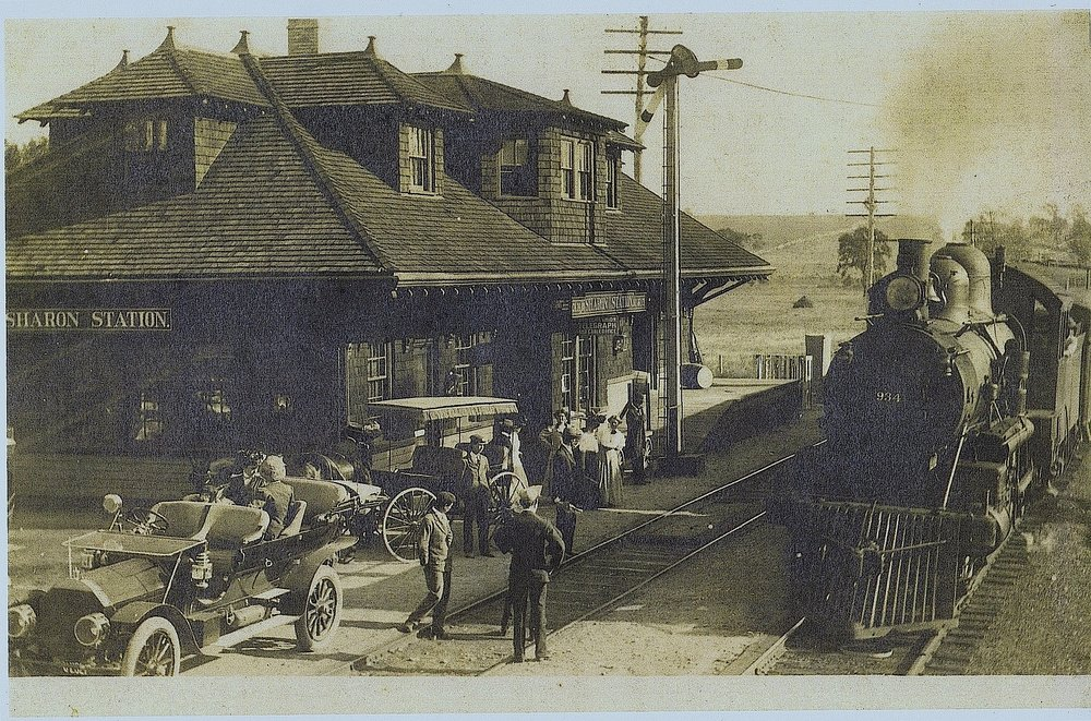 Sharon Station circa 1914