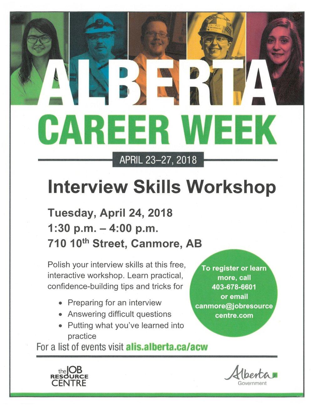 AlbertaCareerWeek Interview Skills ws.jpg