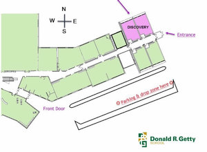 Donald r getty discovery team directions to our centre in donald rtty publicscrutiny Images