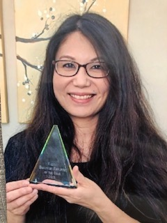 Ms. Kazumi -Discovery's ChildCare Educator of the Year 2019  Congratulations!