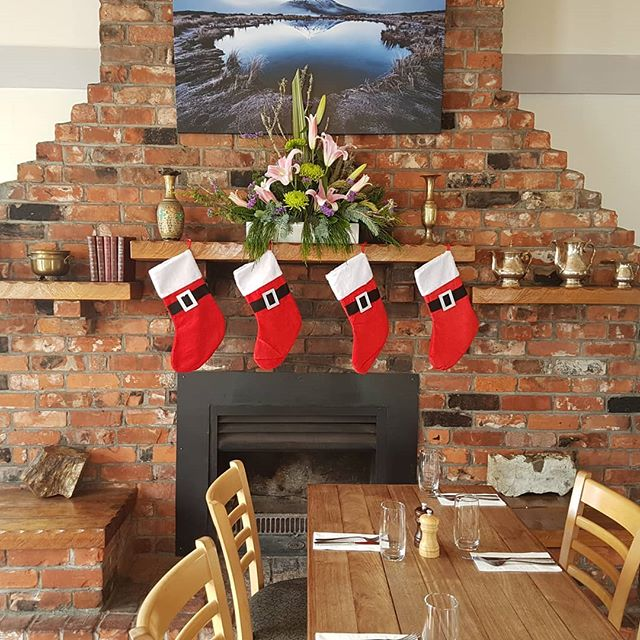 Christmas is upon us and the time has come to plan your Christmas party. Get away from the rush of the city and come out to Egmont Village and enjoy the comforts that our little cottage has to offer. We have a range of menus available for lunch and dinner from ala carte, set menus and the very popular Christmas buffet. Get in touch with us today to discuss the options and secure your function todsy before we fill up.