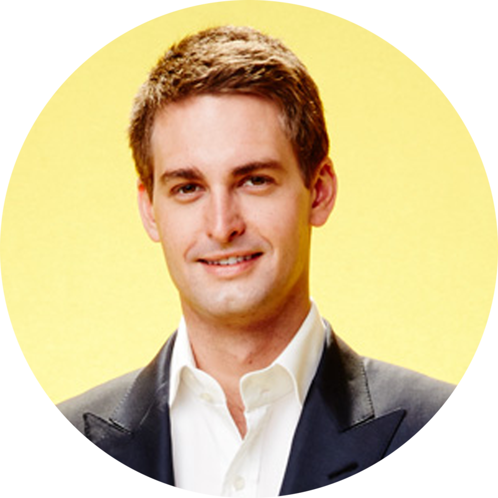 Evan Spiegel Co Founder And Chief Executive Officer At Snapchat