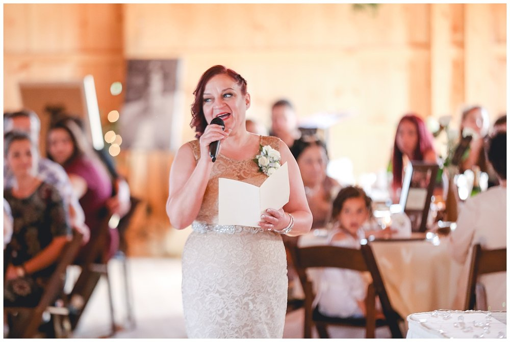 mother of the bride sings