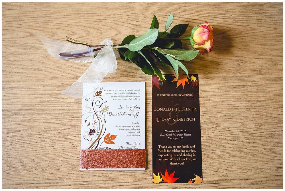 wedding program details