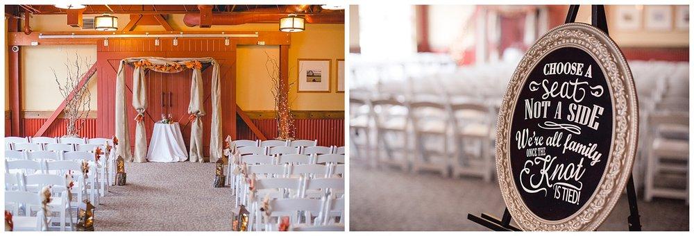 ceremony details, venue