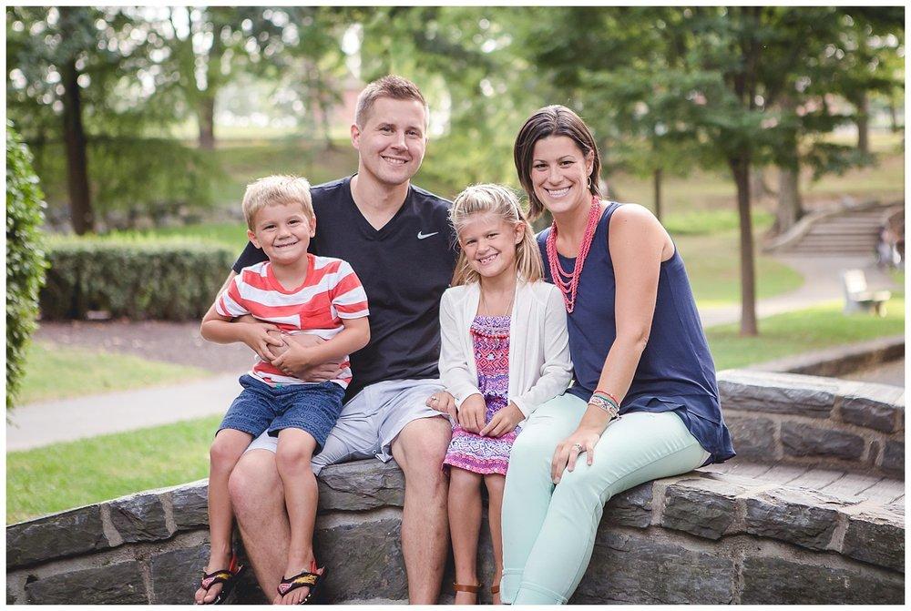 Lititz family portrait