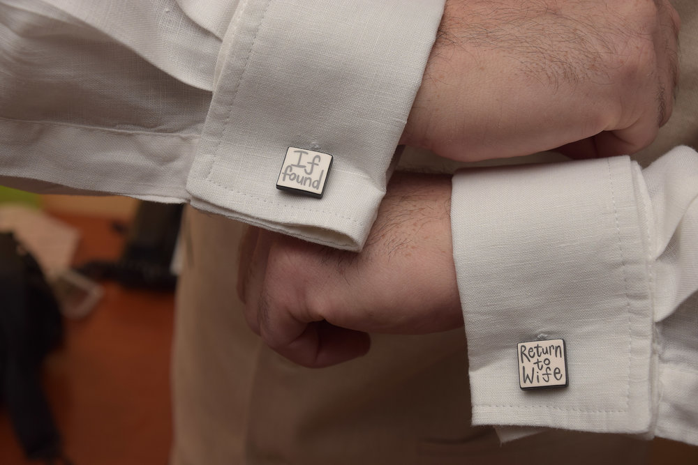 Creative Cuff Links.