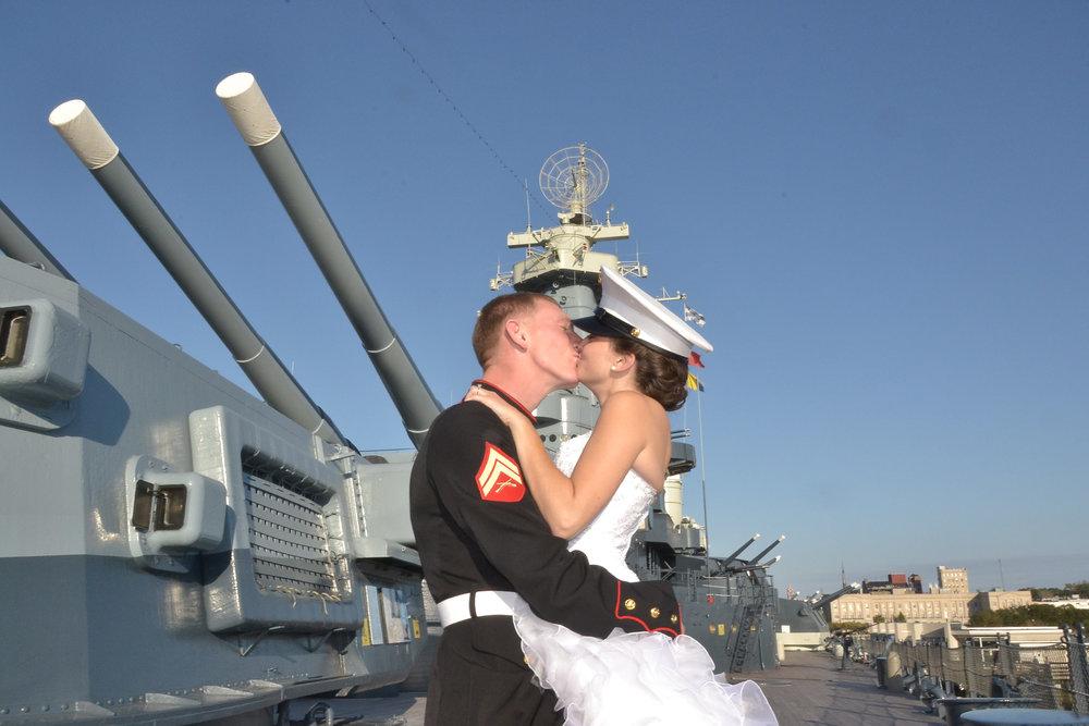 Battleship Kiss.