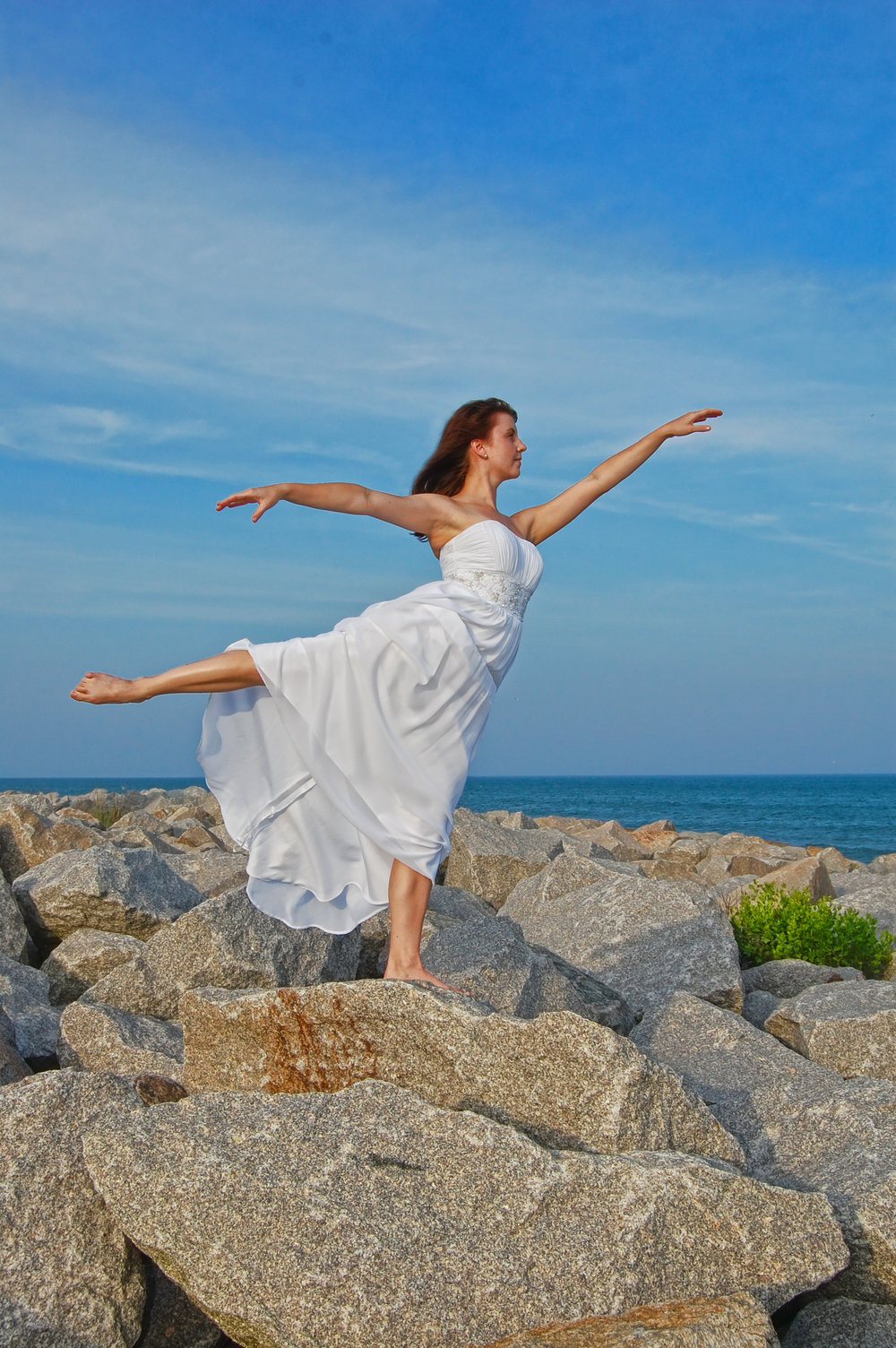Bridal Dancer. Taken at Fort Fisher State Park near Wilmington, NC.