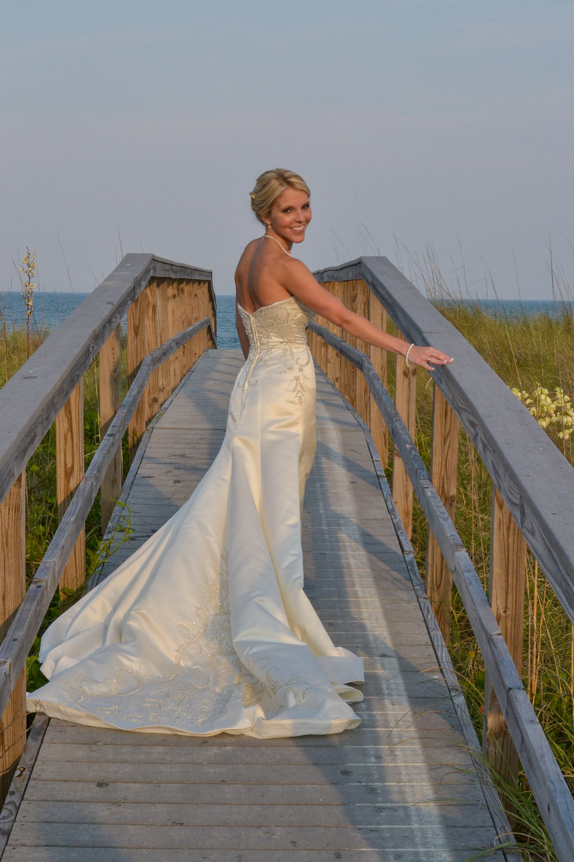 Bridal Portrait, Wrightsville Beach, NC.