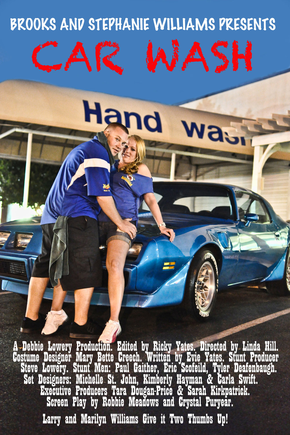 Wedding Movie Poster. Car Wash.