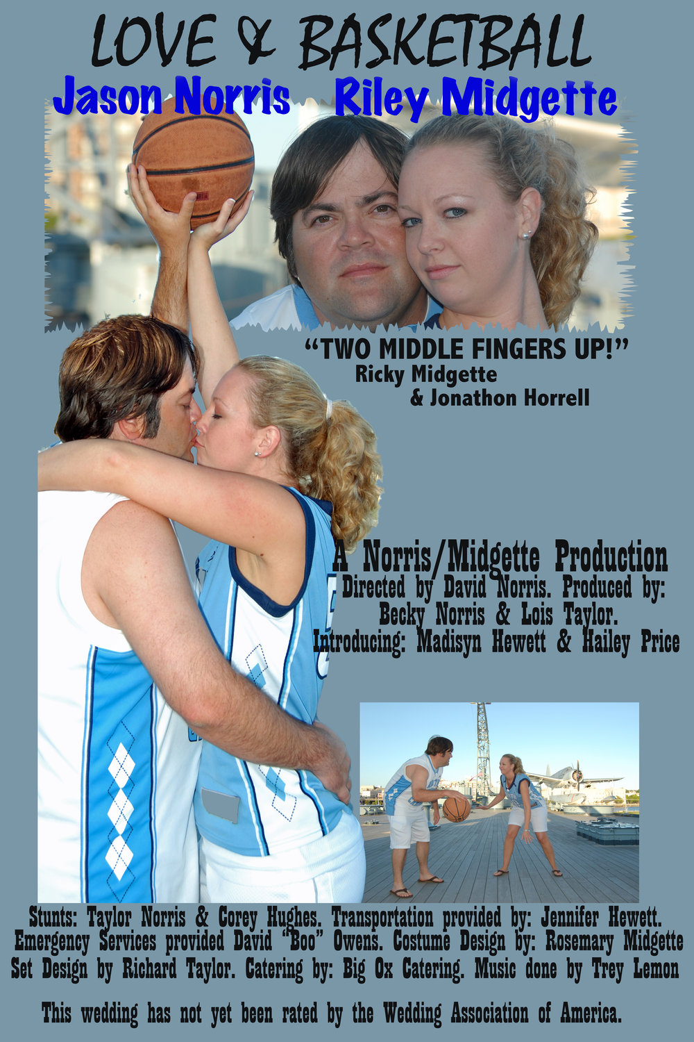 Wedding Movie Poster. Love and Basketball.