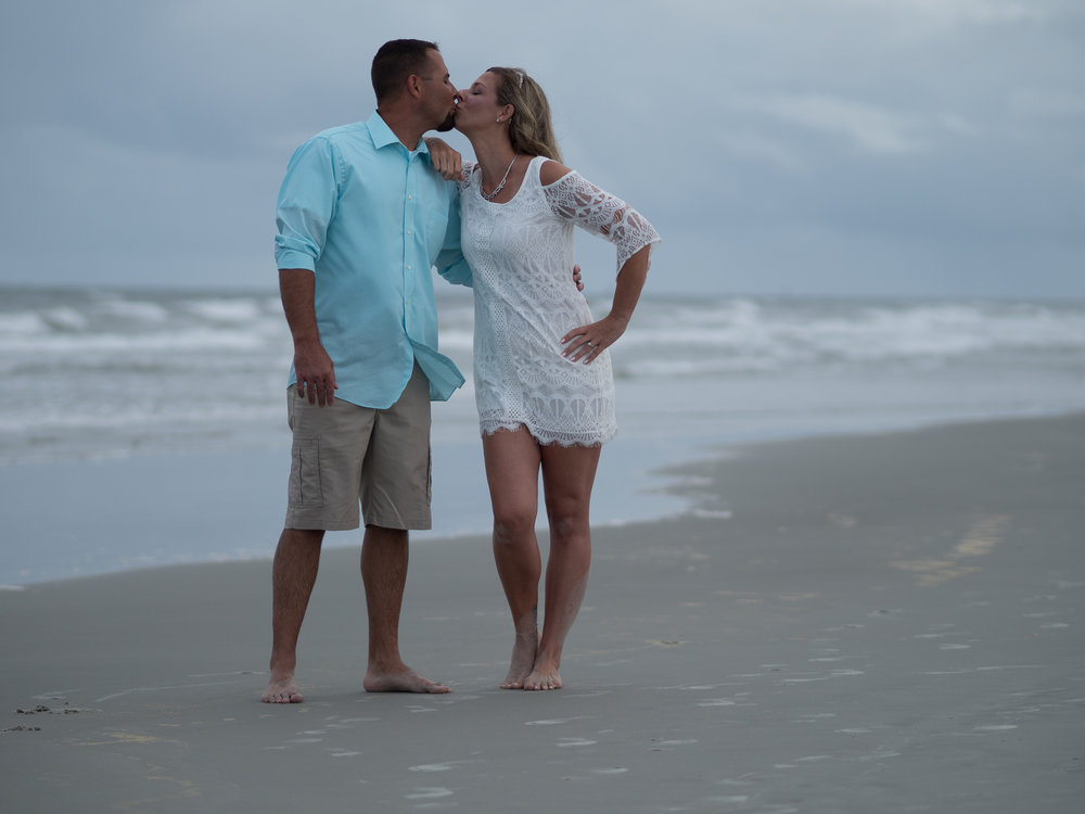 - Couple session at Sunset Beach.