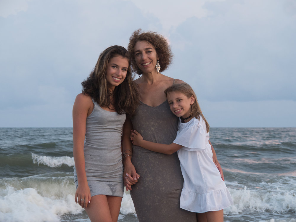 - Mother and daughters, Ocean Isle Beach, NC.