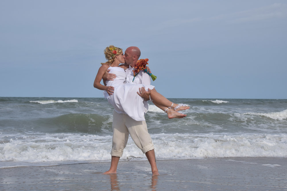 -  Beach Wedding Portfolio: Click on image.