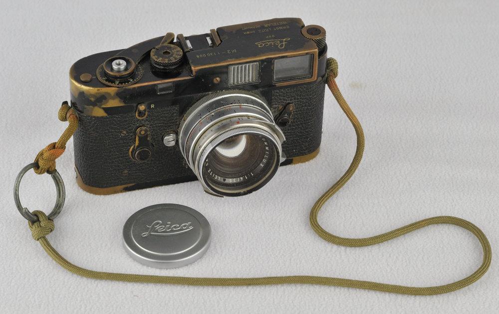 - The camera. Leica M2.