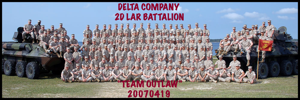 Not a sports shot, but done during my sport shooting days. 2nd LAR Battalion at Camp Lejeune. Large group.