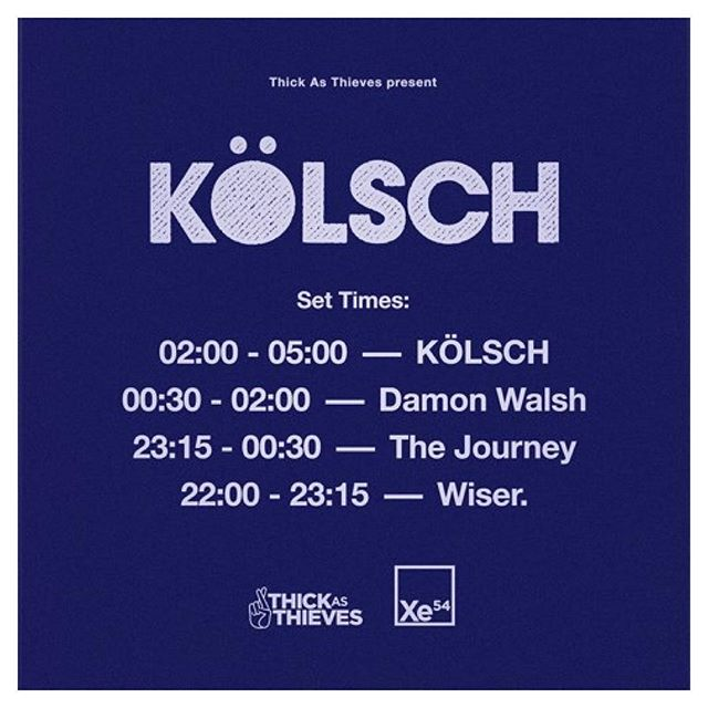 Much excitement!!! Warming the room for the king of romantic techno tomorrow night. @kolschofficial @thick_as_thieves @xe54melb #kolsch #thejourneymusic #kompakt #xe54 #melodichouse