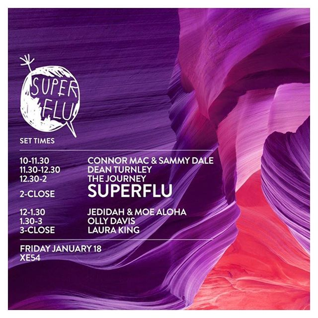 Last time we had the pleasure of playing with @superflu_music it was in Bucharest. This time we will be on warm up duties!! Join us!! @thick_as_thieves @xe54melb #afrohouse #monaberry #melodic #melbourne #summer
