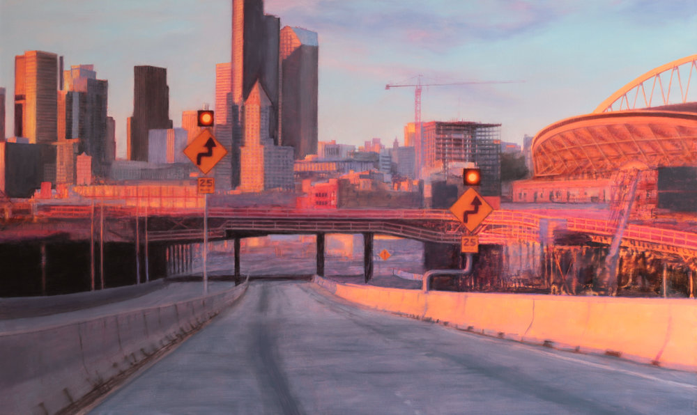 Downtown ( Seattle ), 36 x 60