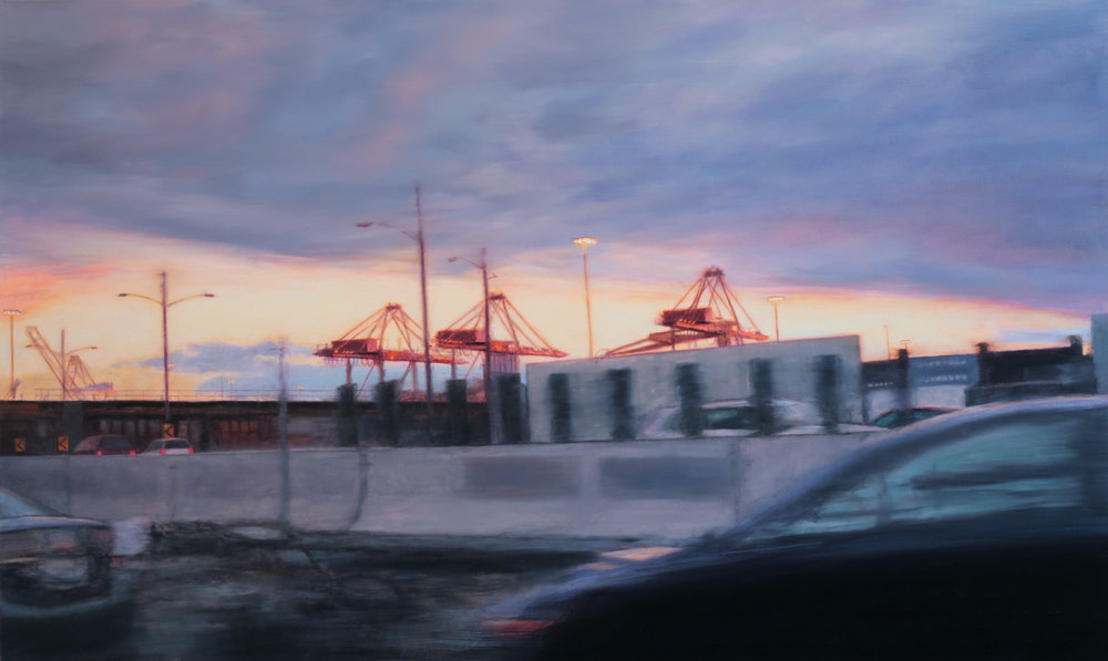 Cranes, 36 x 60