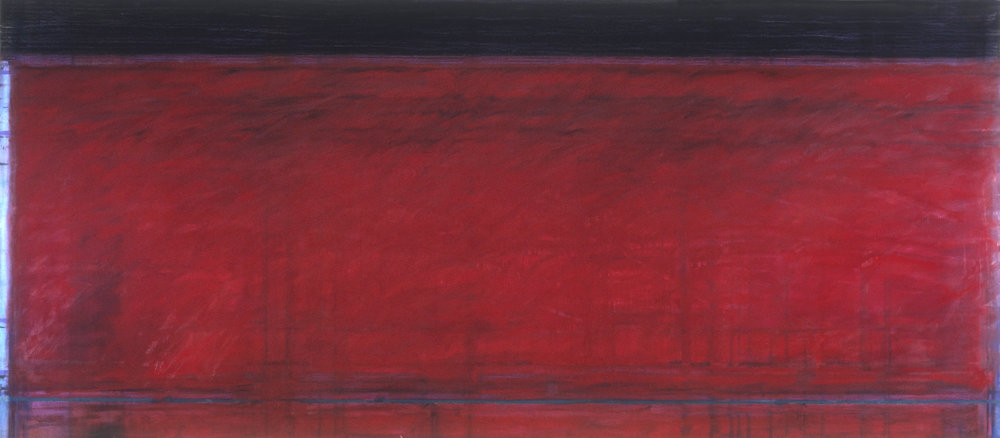 Red Series #40, 52 x 120
