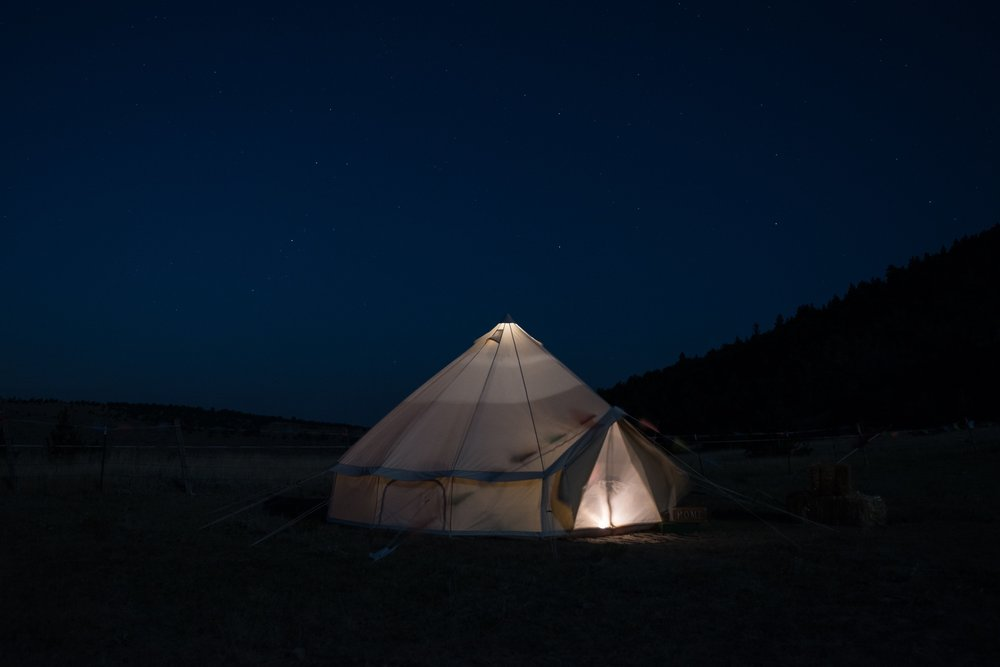 Glamping Vacation in Montana