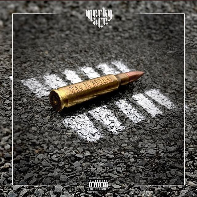 War Is Normal out on Spotify and iTunes NOW!! link in @merkyace bio!! Heavy features on this one including @fazemiyake  Artwork by HoodSociety. 💻