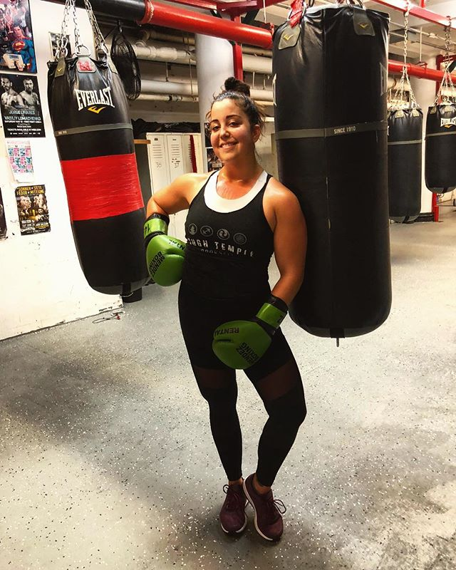 This is how you box, right? 😂  # Thanks for the sweat and smiles, @spider81 🥊 I'll be baaaaack