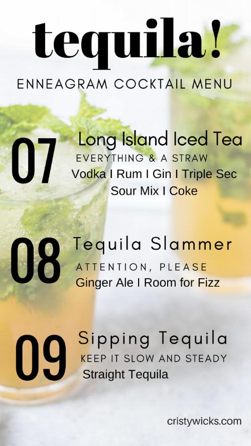 Tequila Enneagram 7-9
