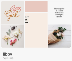 click to view libby's mood board -