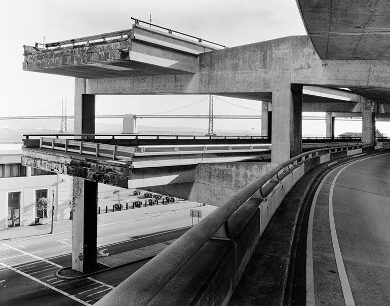 North Terminis, Middle level. Embarcadero Freeway San Francisco, 1990