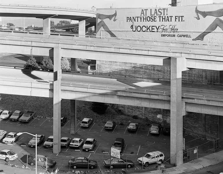 Jockey-Billboard and Ramps Embarcadero Freeway San Francisco, 1990
