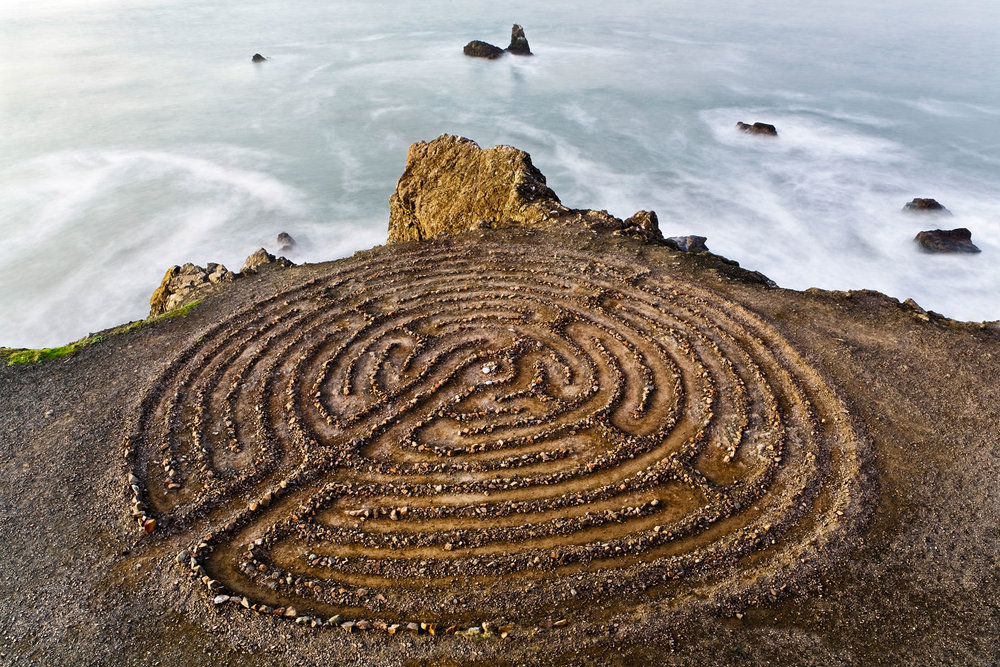 Labyrinth. Lands End, San Francisco, CA