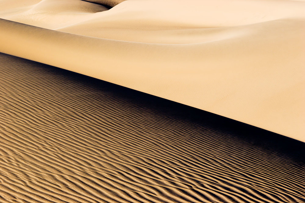 Dune Wave. Death Valley