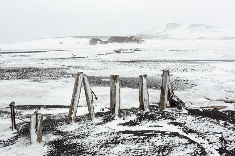 Abandoned Whaling Port. Deception Island, Antarctica