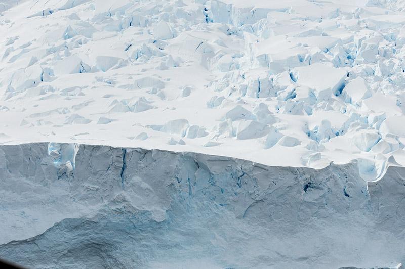 Glacier Face. Neko Harbor, Antarctica
