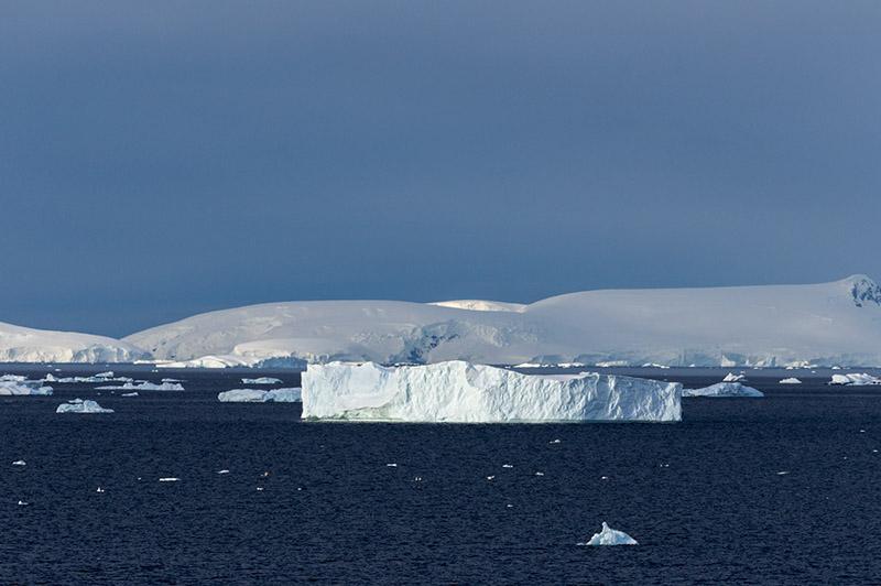 Icebergs. Neko Harbor, Antarctica