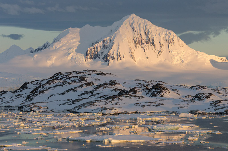 Mount William. Anvers Island, Antarctica