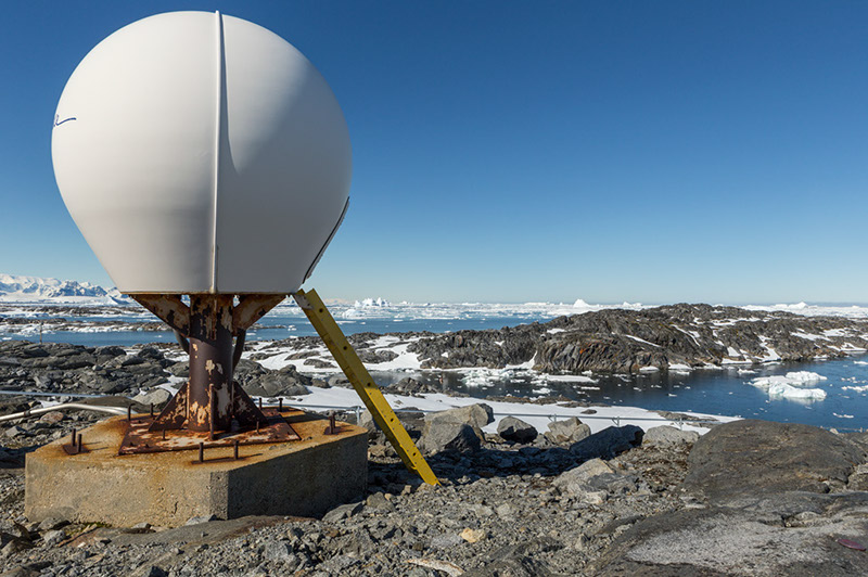 Instrument Housing. Palmer Station, Antarctica